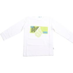 Υφασμάτινα Παιδί Μπλουζάκια με μακριά μανίκια Melby 70C5524 λευκό