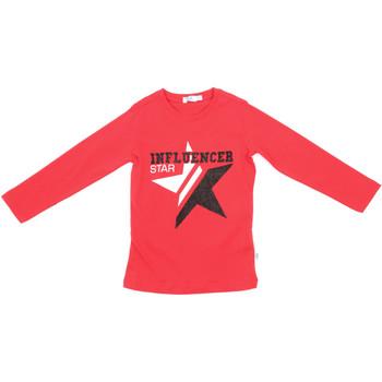 Υφασμάτινα Παιδί Μπλουζάκια με μακριά μανίκια Melby 70C5615 το κόκκινο
