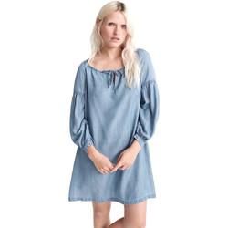 Υφασμάτινα Γυναίκα Κοντά Φορέματα Superdry W8010099A Μπλε