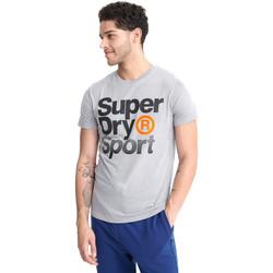 Υφασμάτινα Άνδρας T-shirt με κοντά μανίκια Superdry MS300010A Γκρί