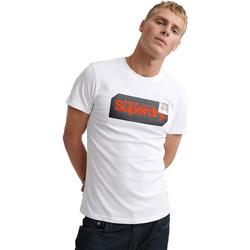 Υφασμάτινα Άνδρας T-shirt με κοντά μανίκια Superdry M1000072A λευκό
