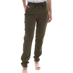 Υφασμάτινα Γυναίκα Παντελόνια Chino/Carrot Liu Jo WA0169 T7982 Πράσινος