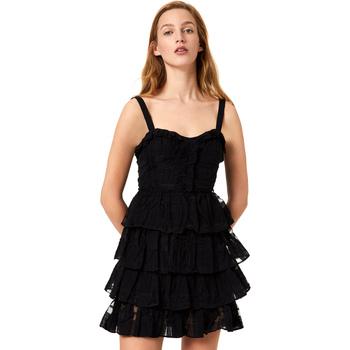 Υφασμάτινα Γυναίκα Κοντά Φορέματα Liu Jo FA0312 T4190 Μαύρος
