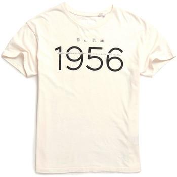 Υφασμάτινα Γυναίκα T-shirt με κοντά μανίκια Superdry W1000001A λευκό