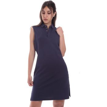 Υφασμάτινα Γυναίκα Κοντά Φορέματα Ea7 Emporio Armani 3HTA58 TJI3Z Μπλε