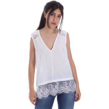 Υφασμάτινα Γυναίκα Μπλούζες Gaudi 011FD45055 λευκό