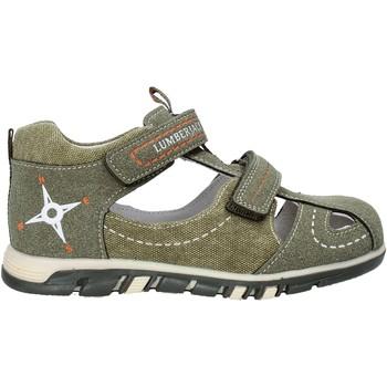 Παπούτσια Παιδί Σανδάλια / Πέδιλα Lumberjack SB42106 004 P63 Πράσινος