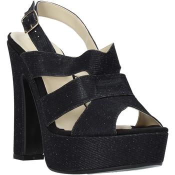 Παπούτσια Γυναίκα Σανδάλια / Πέδιλα Esther Collezioni ELE 084 Μαύρος