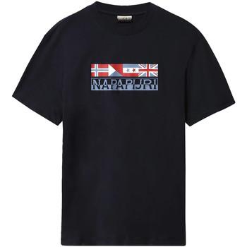 Υφασμάτινα Άνδρας T-shirt με κοντά μανίκια Napapijri NP0A4E35 Μπλε