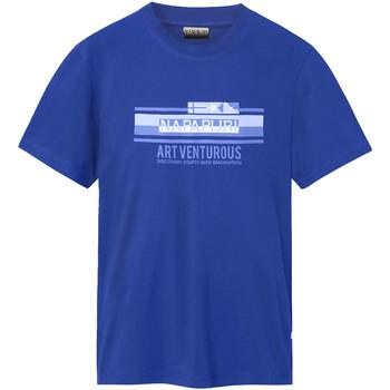 Υφασμάτινα Άνδρας T-shirt με κοντά μανίκια Napapijri NP0A4E36 Μπλε