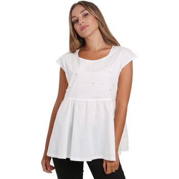 Υφασμάτινα Γυναίκα Μπλούζες NeroGiardini E062761D λευκό