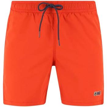Υφασμάτινα Άνδρας Μαγιώ / shorts για την παραλία Napapijri NP0A4EB2 Πορτοκάλι