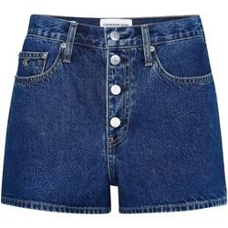 Υφασμάτινα Γυναίκα Σόρτς / Βερμούδες Calvin Klein Jeans J20J213866 Μπλε