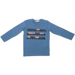Υφασμάτινα Παιδί Μπλουζάκια με μακριά μανίκια Melby 70C5524 Μπλε