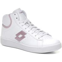 Παπούτσια Γυναίκα Ψηλά Sneakers Lotto 212080 λευκό