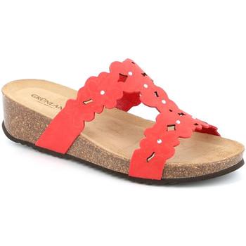 Παπούτσια Γυναίκα Τσόκαρα Grunland CB2491 το κόκκινο