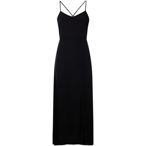 Υφασμάτινα Γυναίκα Μακριά Φορέματα Calvin Klein Jeans J20J213630 Μαύρος