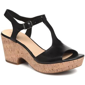 Παπούτσια Γυναίκα Σανδάλια / Πέδιλα Clarks 26142156 Μαύρος
