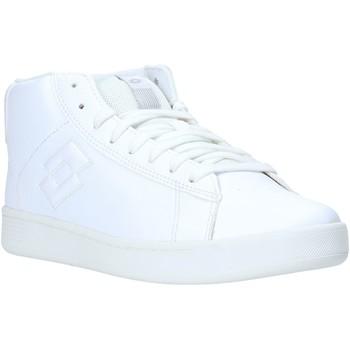 Παπούτσια Γυναίκα Ψηλά Sneakers Lotto L59026 λευκό