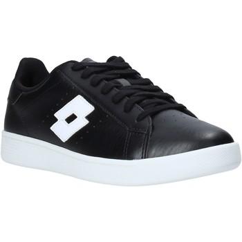 Παπούτσια Άνδρας Χαμηλά Sneakers Lotto 212064 Μαύρος