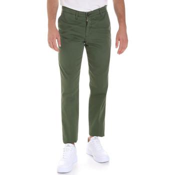 Υφασμάτινα Άνδρας Παντελόνια Chino/Carrot Les Copains 9U3320 Πράσινος