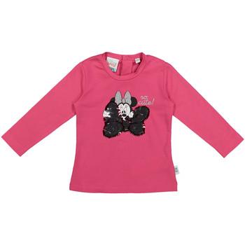Υφασμάτινα Παιδί Μπλουζάκια με μακριά μανίκια Melby 20C2101DN Ροζ