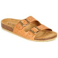 Παπούτσια Γυναίκα Τσόκαρα Kickers ECOLOG Camel /  clair