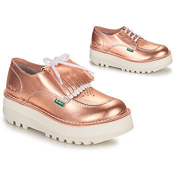 Παπούτσια Γυναίκα Derby Kickers KICKOUCLASS Ροζ / Μεταλικό
