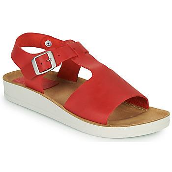 Παπούτσια Γυναίκα Σανδάλια / Πέδιλα Kickers ODILOO Red