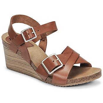 Παπούτσια Γυναίκα Σανδάλια / Πέδιλα Kickers SPAINSTRAP Brown