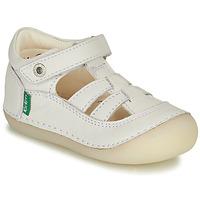 Παπούτσια Κορίτσι Μπαλαρίνες Kickers SUSHY Άσπρο