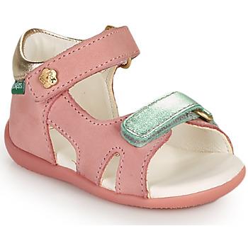 Παπούτσια Κορίτσι Σανδάλια / Πέδιλα Kickers BINSIA-2 Ροζ