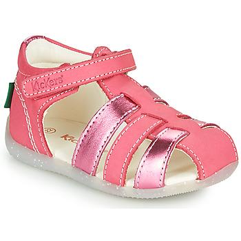 Παπούτσια Κορίτσι Σανδάλια / Πέδιλα Kickers BIGFLO-2 Ροζ