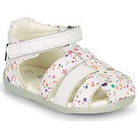 Παπούτσια Κορίτσι Σανδάλια / Πέδιλα Kickers BIGFLO-2 Άσπρο