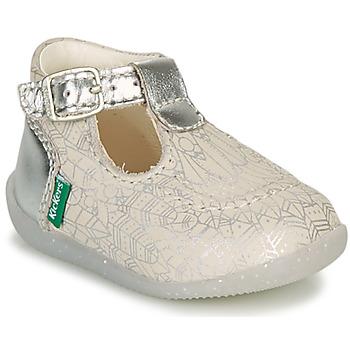Παπούτσια Κορίτσι Μπαλαρίνες Kickers BONBEK-2 Silver