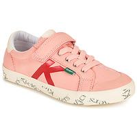Παπούτσια Κορίτσι Χαμηλά Sneakers Kickers GODY Ροζ