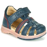Παπούτσια Αγόρι Σανδάλια / Πέδιλα Kickers PLATIBACK Marine