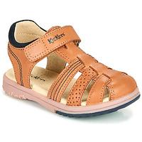 Παπούτσια Αγόρι Σανδάλια / Πέδιλα Kickers PLATINIUM Camel