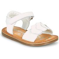 Παπούτσια Κορίτσι Σανδάλια / Πέδιλα Kickers DYASTAR Άσπρο