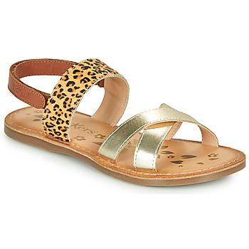 Παπούτσια Κορίτσι Σανδάλια / Πέδιλα Kickers DYACROSS Gold