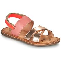 Παπούτσια Κορίτσι Σανδάλια / Πέδιλα Kickers DYACROSS Ροζ