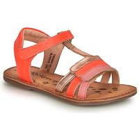 Παπούτσια Κορίτσι Σανδάλια / Πέδιλα Kickers DIAMANTO Ροζ