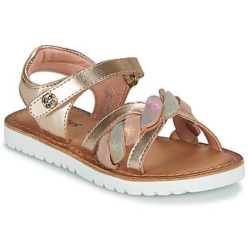 Παπούτσια Κορίτσι Σανδάλια / Πέδιλα Kickers BETTYL Ροζ