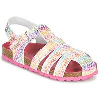 Παπούτσια Κορίτσι Σανδάλια / Πέδιλα Kickers SUMMERTAN Άσπρο