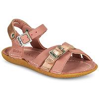 Παπούτσια Κορίτσι Σανδάλια / Πέδιλα Kickers PEPETE Ροζ