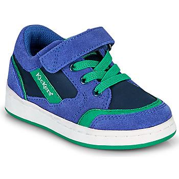 Xαμηλά Sneakers Kickers BISCKUIT ΣΤΕΛΕΧΟΣ: Δέρμα και συνθετικό & ΕΠΕΝΔΥΣΗ: Ύφασμα & ΕΣ. ΣΟΛΑ: Ύφασμα & ΕΞ. ΣΟΛΑ: Συνθετικό