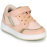 Παπούτσια Κορίτσι Χαμηλά Sneakers Kickers BISCKUIT Ροζ