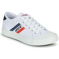 Παπούτσια Αγόρι Χαμηλά Sneakers Levi's MISSION Άσπρο
