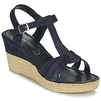 Παπούτσια Γυναίκα Σανδάλια / Πέδιλα Marco Tozzi ANNA Marine
