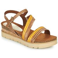 Παπούτσια Γυναίκα Σανδάλια / Πέδιλα Marco Tozzi LIZZA Cognac